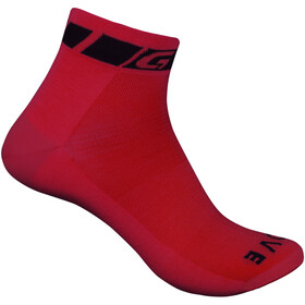 GripGrab Classic Chaussettes, rouge